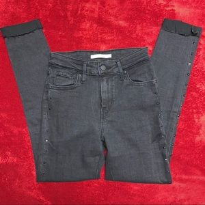 LEVI'S | HIGH WAISTED JEANS WITH RHINESTONE DETAIL